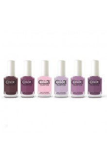 Color Club Lacquer - Wild Mulberry Collection - All 6 Colors - 15 mL / 0.5 oz Each