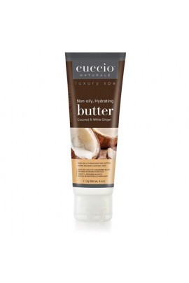 Cuccio Naturale Luxury Spa - Butter Blends Tube - Coconut & White Ginger - 4oz