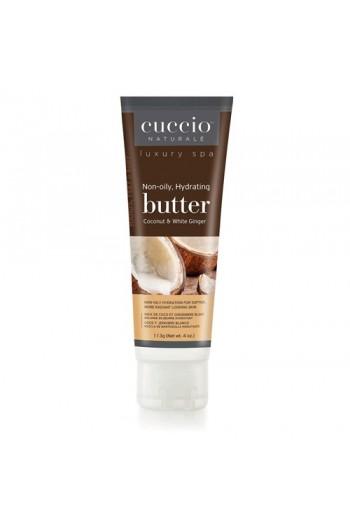 Cuccio Naturale Luxury Spa - Butter Blends Tube - Coconut & White Ginger - 4oz