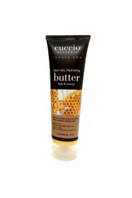Cuccio Naturale Luxury Spa - Butter Blends Tube - Milk & Honey - 4oz