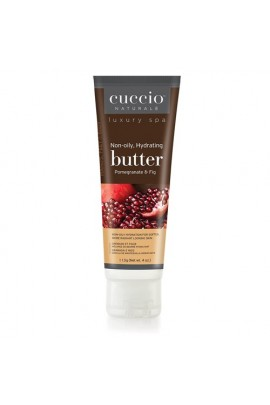 Cuccio Naturale Luxury Spa - Butter Blends Tube - Pomegranate & Fig - 4oz