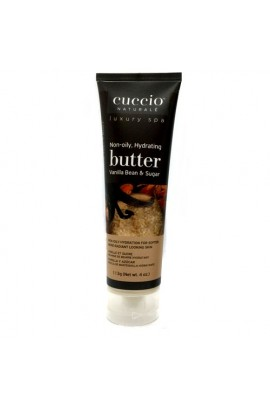 Cuccio Naturale Luxury Spa - Butter Blends Tube - Vanilla Bean & Sugar - 4oz