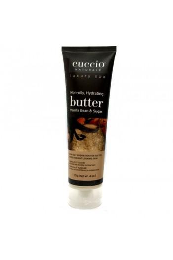 Cuccio Naturale Luxury Spa - Butter Blends Tube - Vanilla Bean & Sugar - 4oz