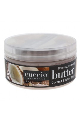 Cuccio Naturale Luxury Spa - Butter Blends - Coconut & White Ginger - 8oz