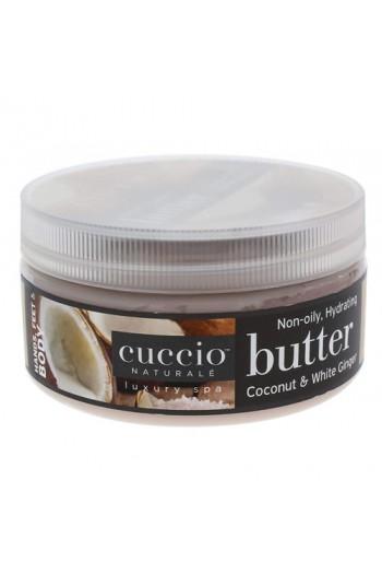 Cuccio Naturale Luxury Spa - Butter Blends - Coconut & White Ginger - 8oz