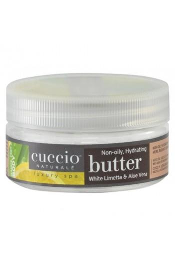 Cuccio Naturale Luxury Spa - Butter Blends - White Limetta & Aloe Vera - 8oz