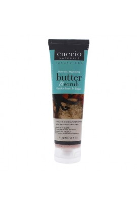Cuccio Naturale Luxury Spa - Butter & Scrub Tube - Vanilla Bean & Sugar - 4oz
