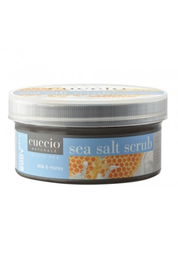 Cuccio Naturale Luxury Spa - Sea Salt Scrub - Milk & Honey - 19.5oz
