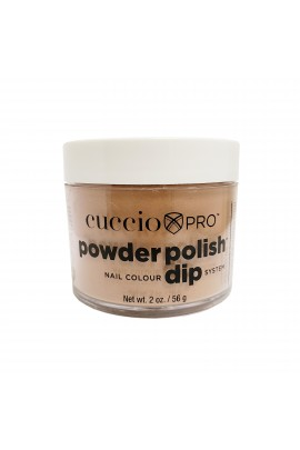 Cuccio Pro - Powder Polish Dip System - Rose Gold Slippers - 2oz / 56g