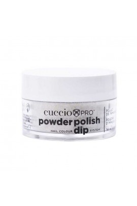 Cuccio Pro - Powder Polish Dip System - Silver w/ Silver Mica - 0.5oz / 14g