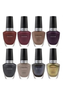Cuccio Colour Nail Lacquer - Tapestry Collection - All 8 Colors - 13 mL / 0.43 oz Each