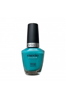 Cuccio Colour Nail Lacquer - Aquaholic - 13ml / 0.43oz