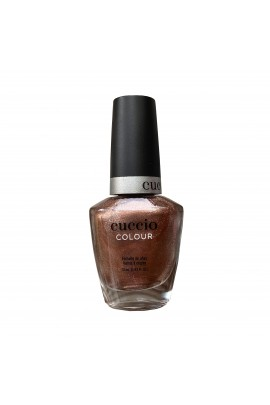 Cuccio Colour Nail Lacquer - Rose Gold Slippers - 13ml / 0.43oz
