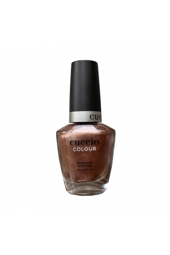 Cuccio Colour Nail Lacquer - Rose Gold Slippers - 13ml / 0.43oz