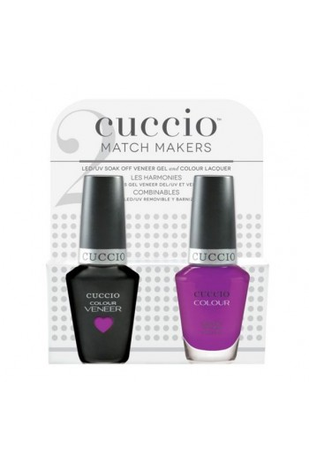 Cuccio Match Makers - Veneer Gel  & Lacquer - Agent Of Change - 0.43oz / 13ml Each