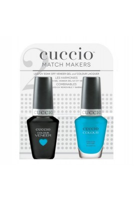 Cuccio Match Makers - Veneer Gel  & Lacquer - Live Your Dream - 0.43oz / 13ml Each