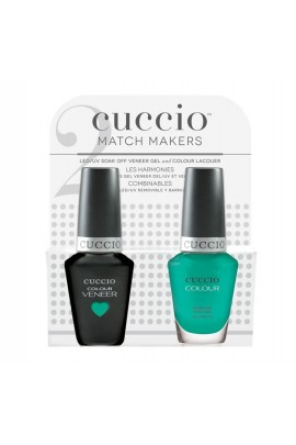 Cuccio Match Makers - Veneer Gel  & Lacquer - Make A Difference - 0.43oz / 13ml Each