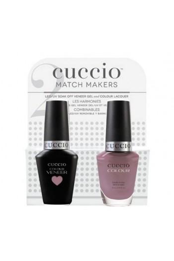 Cuccio Match Makers - Veneer Gel  & Lacquer - On Pointe - 0.43oz / 13ml Each