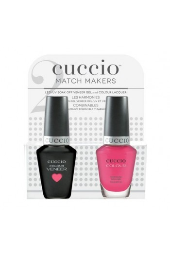 Cuccio Match Makers - Veneer Gel  & Lacquer - She Rocks - 0.43oz / 13ml Each