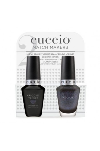 Cuccio Match Makers - Veneer Gel  & Lacquer - Cover Me Up - 0.43oz / 13ml Each