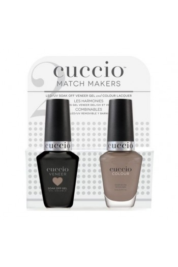 Cuccio Match Makers - Veneer Gel  & Lacquer - Loom Mates - 0.43oz / 13ml Each