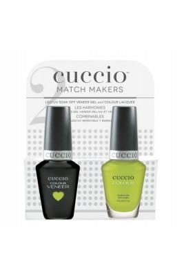 Cuccio Match Makers - Veneer Gel  & Lacquer - Wow The World - 0.43oz / 13ml Each