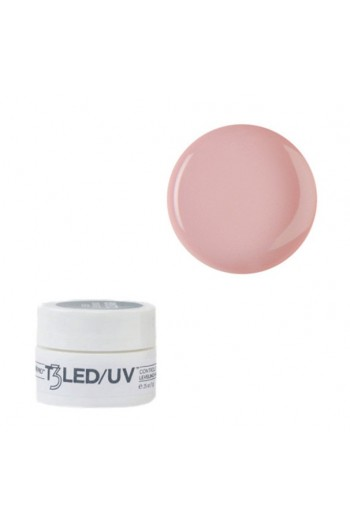 Cuccio T3 LED/UV -  Self Leveling Cool Cure Gel - Opaque Petal Pink - 7 g / 0.25 oz