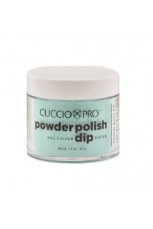 Cuccio Pro - Powder Polish Dip System - Aquamarine - 1.6 oz / 45 g