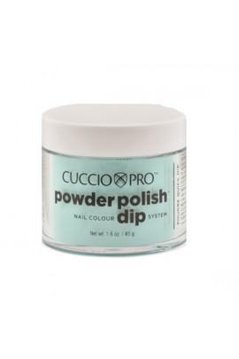 Cuccio Pro - Powder Polish Dip System - Aquamarine - 1.6 oz / 45 g