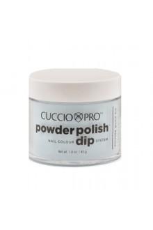 Cuccio Pro - Powder Polish Dip System - Baby Blue Glitter - 1.6 oz / 45 g