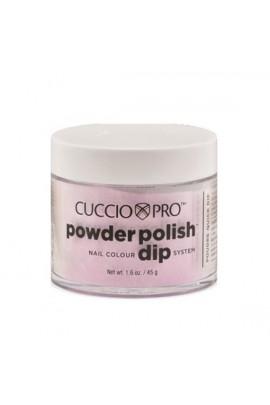 Cuccio Pro - Powder Polish Dip System - Baby Pink Glitter - 1.6 oz / 45 g