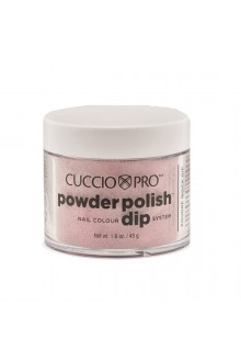 Cuccio Pro - Powder Polish Dip System - Barbie Pink Glitter - 1.6 oz / 45 g