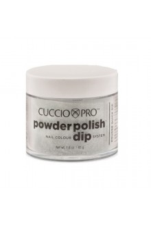 Cuccio Pro - Powder Polish Dip System - Black Glitter - 1.6 oz / 45 g