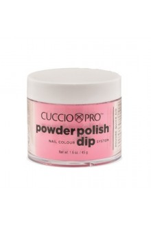 Cuccio Pro - Powder Polish Dip System - Bright Neon Pink - 1.6 oz / 45 g