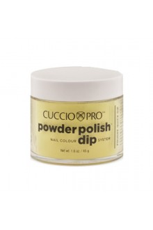 Cuccio Pro - Powder Polish Dip System - Bright Neon Yellow - 1.6 oz / 45 g