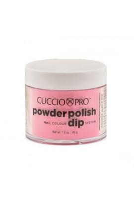 Cuccio Pro - Powder Polish Dip System - Bright Pink - 1.6 oz / 45 g