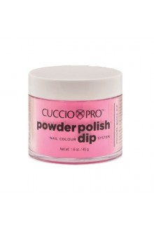 Cuccio Pro - Powder Polish Dip System - Bubble Gum Pink - 1.6 oz / 45 g