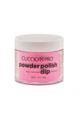 Cuccio Pro - Powder Polish Dip System - Bubble Gum Pink - 1.6 oz / 45 g