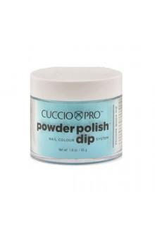Cuccio Pro - Powder Polish Dip System - Caribbean Sky Blue - 1.6 oz / 45 g