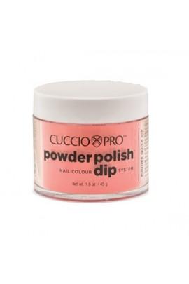 Cuccio Pro - Powder Polish Dip System - Coral w/ Peach Undertones - 1.6 oz / 45 g