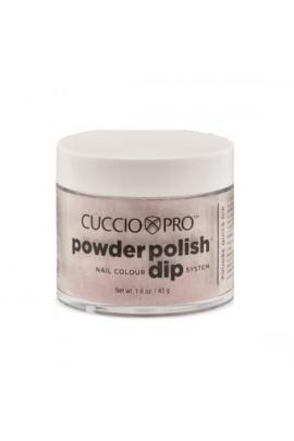Cuccio Pro - Powder Polish Dip System - Dark Red Glitter - 1.6 oz / 45 g