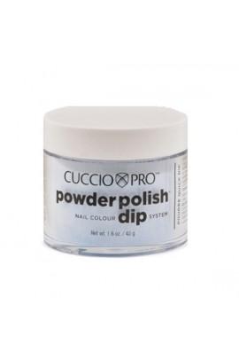 Cuccio Pro - Powder Polish Dip System - Deep Blue Glitter - 1.6 oz / 45 g