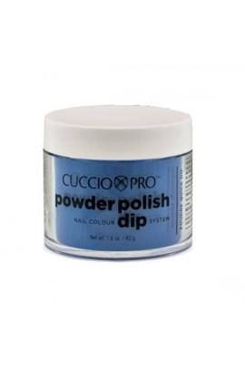 Cuccio Pro - Powder Polish Dip System - Deep Blue w/ Blue Mica - 1.6 oz / 45 g