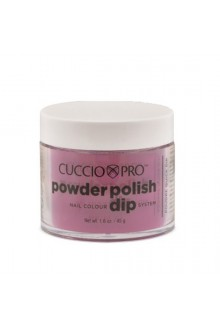 Cuccio Pro - Powder Polish Dip System - Deep Rose - 1.6 oz / 45 g