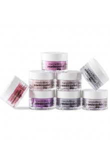 Cuccio Pro - Powder Polish Dip System - Drama Queen Collection - 8 Piece Set - 0.5 oz / 14 g Each