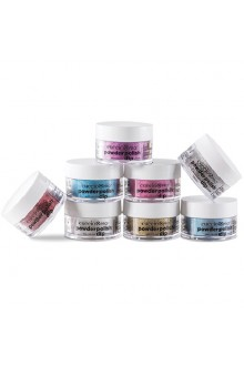 Cuccio Pro - Powder Polish Dip System - She Shimmers Collection - 8 Piece Set - 0.5 oz / 14 g Each