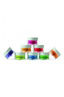 Cuccio Pro - Powder Polish Dip System - Funky Neons Collection - 8 Piece Set - 0.5 oz / 14 g Each