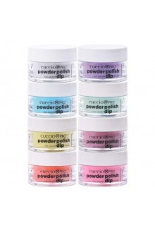 Cuccio Pro - Powder Polish Dip System - So So Fun Collection - 8 Piece Set - 0.5 oz / 14 g Each