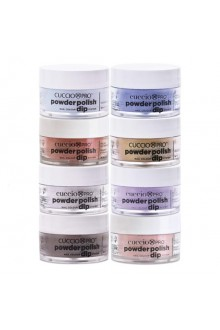Cuccio Pro - Powder Polish Dip System - Urban Nites Collection - 8 Piece Set - 0.5 oz / 14 g Each