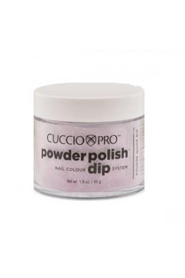 Cuccio Pro - Powder Polish Dip System - Fuchsia Pink Glitter - 1.6 oz / 45 g